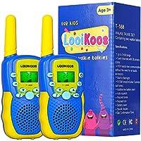 2-Pack Looikoos Walkie Talkies for Kids