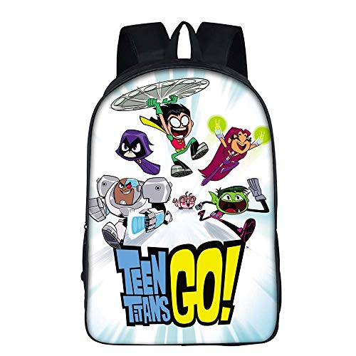 Teen Titans Go Backpack School Bags Suga V Travel Bags Laptop Chain Backpack Headphone USB Port Boys (3)