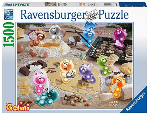 Ravensburger Puzzle 16713 - Gelini Weihnachtsbäckerei - 1500 Teile Puzzle für Erwachsene und Kinder ab 14 Jahren, Gelini Puzzle