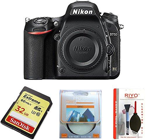 Nikon Spiegelreflexkamera D750 Body (nur Gehäuse)