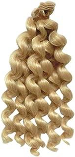 Parrucca per capelli da parrucca lunga 25 centimetri bambola parrucca a onda