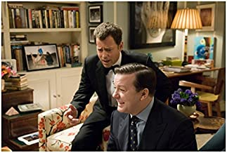 Greg Kinnear 8 inch x 10 inch Photograph Ghost Town (2008) Looking Over Ricky Gervais' Shoulder kn