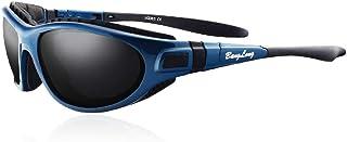 BangLong gafas deportivas polarizadas con protección UV400, gafas de ciclismo para mujeres y hombres para deportes al aire libre, anticolisión, ciclismo