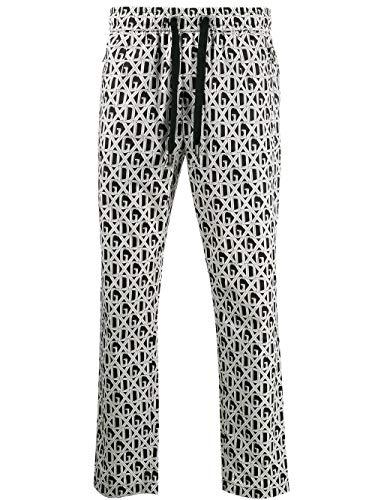 Luxury Fashion | Dolce E Gabbana Uomo GYU6ETHS5FUHN67C Bianco Pantaloni |