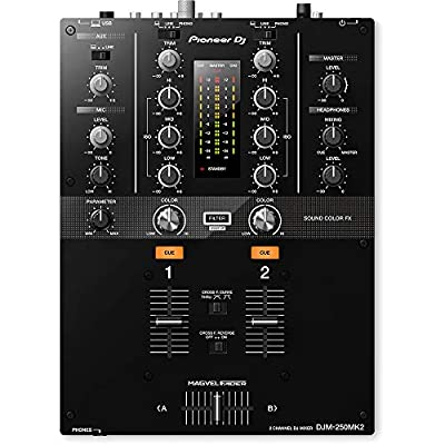 Pioneer DJ DJ Mixer (DJM250MK2) by Pioneer DJ