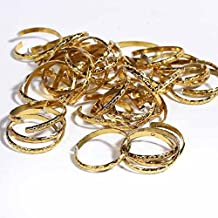 Factory Direct Craft Package of 288 Gold Novelty Wedding Rings for Weddings, Favors, and More
