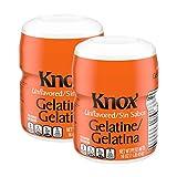 Knox Unflavored Gelatin - 1 lb - SET OF 2
