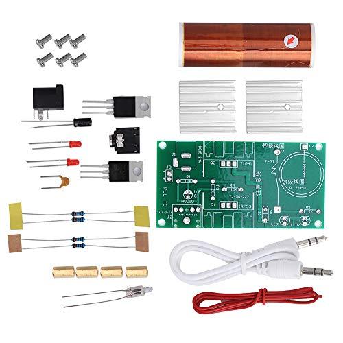 Módulo de bobina Tesla, función de arco, herramienta de bobina Tesla DIY, música de computadora para juegos de transmisión de energía inalámbrica, música para teléfonos móv