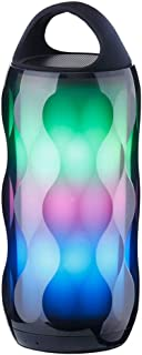GLJJQMY Bluetooth Speaker Big Speaker Colorful Environment Light Touch 6 Light Effect HiFi Sound Quality LED Wireless Portable (Color : Multi-Colored)