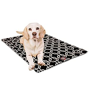 48″ Links Black Crate Dog Bed Mat By Majestic Pet Products