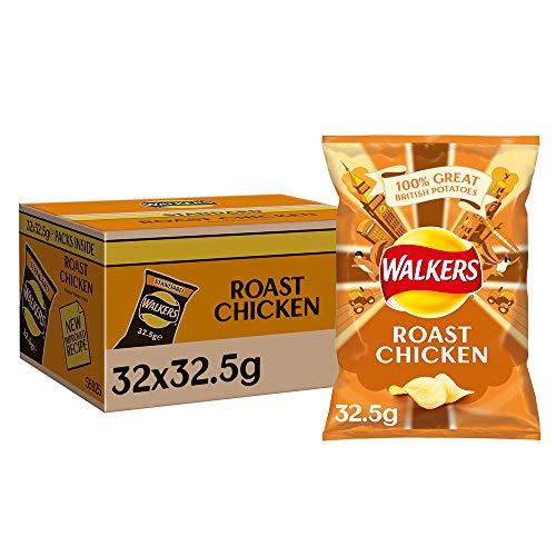 Walkers Crisps Roast Chicken 32 x 32,5g