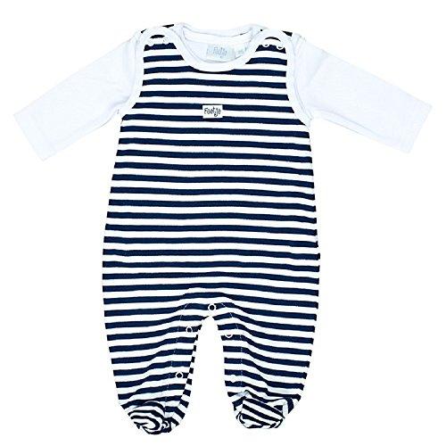 Feetje L'ensemble grenouillère bébé ensemble bébé, marine
