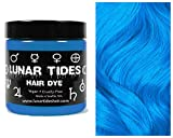Lunar Tides Hair Dye - Cyan Sky Turquoise Semi-Permanent Vegan Hair Color (4 fl oz / 118 ml)