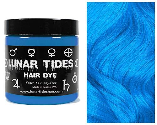 Lunar Tides Haarfärbemittel Semipermanenter Haarfarbstoff Cyan Sky Blau