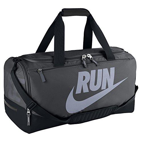 Nike, Borsa Sportiva Uomo Max Air Pursuit, Grigio (Anthracite/Black/Reflective), 60 x 30 x 33 cm, 64 l
