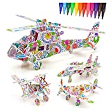 Girl Gift Age 4 5 6, Kids Painting Toy Set for 6-11 Year Old Girls Boys Kid DIY Paper Painting Puzzle for Toddler Child Age 7 8 9 Toy Gifts Art and Craft Set 3D Painting Coloring Puzzle for Painter