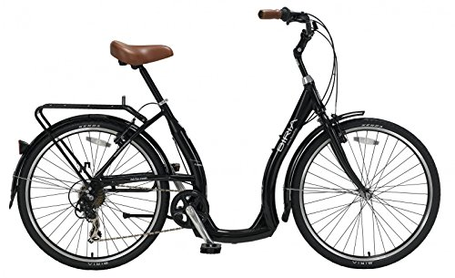 BIRIA Easy Boarding 7 Speed Step Through Cruiser Bicycle Black