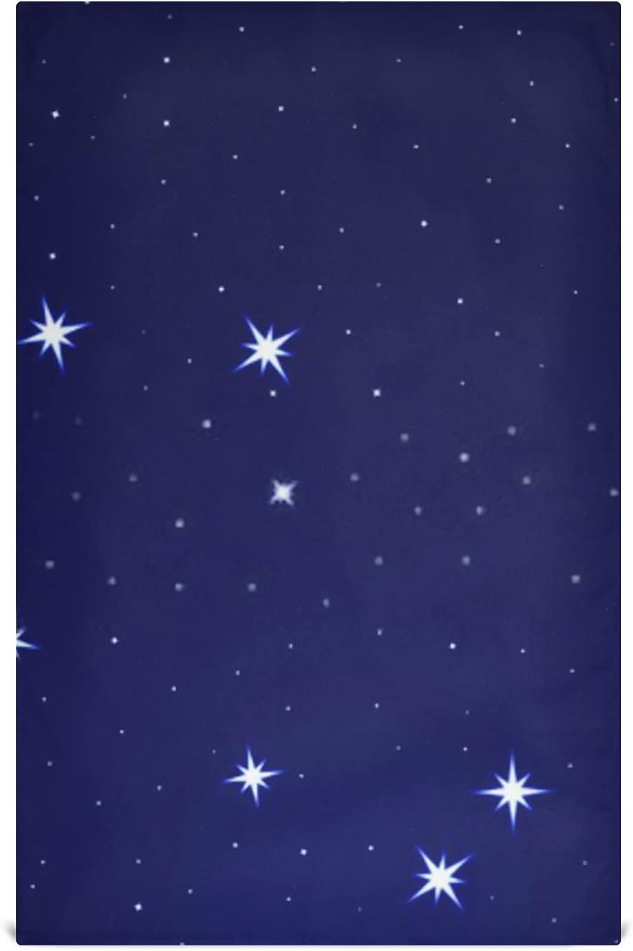 JIUCHUAN Now on Max 79% OFF sale Kitchen Dish Towel Set Constellation Capricornus S On 6