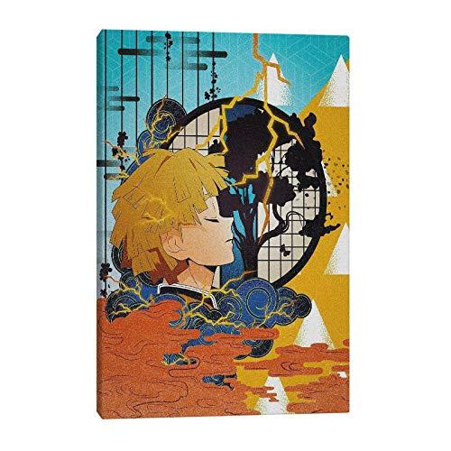 wZUN Lienzo Impreso Pared Arte Cartel Asesino Pintura Anime Personaje decoración del hogar Imagen...