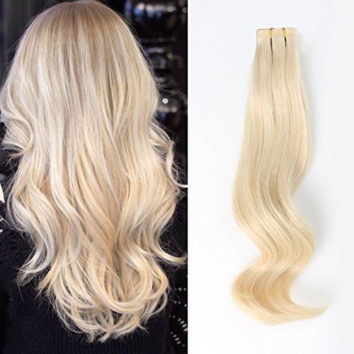 ABH AmazingBeauty Hair Semi-permanent Real Remi Remy Human Tape in...
