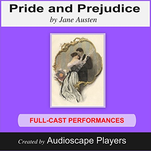 Pride and Prejudice (Dramatized)                   By:                                                                                                                                 Jane Austen,                                                                                        M.A. Erichsen (adaption)                               Narrated by:                                                                                                                                 Audioscape Players                      Length: 2 hrs and 59 mins     6 ratings     Overall 3.2