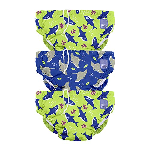 Bambino Mio 3SWPM NEO - Pañal bañador, eléctrico, mediano (6-12 meses), pack...