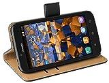 Mumbi 11208 - Funda para móvil Huawei Y625, Color Negro