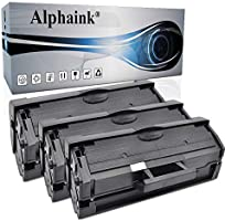 3 Toner Alphaink Compatibile con Samsung MLT-D111 versione da 1800 copie per stampanti Samsung SL M2020 M2020W M2022W...