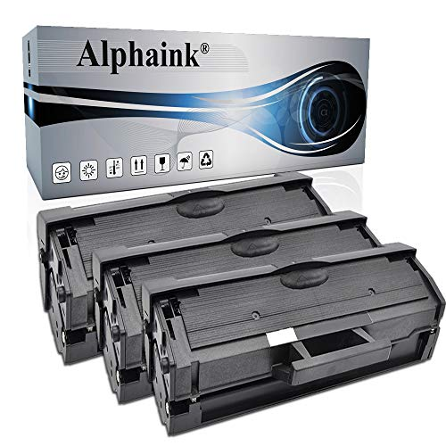 3 Toner Alphaink Compatibile con Samsung MLT-D111 versione da 1800 copie per stampanti Samsung SL M2020 M2020W M2022W M2026W XPRESS M2020 M2021 M2026 M2070 M2071HW M2078