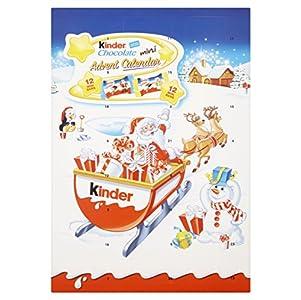 Kinder - Calendario de adviento con chocolatinas, 135g (paquete de 3)