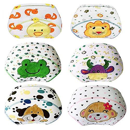 Lazzon Baby Trainerhosen Unterhosen Baumwolle Töpfchentraining Unterwäsche für Jungen Mädchen 1 bis 3 Jahre 6er Pack
