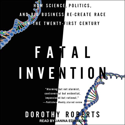 Fatal Invention audiobook cover art