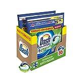 Dash Pods Allin1 - Detergente para lavadora en cápsulas con tecnología antiolor, tamaño maxi de 43 x 2 unidades, 86 lavados