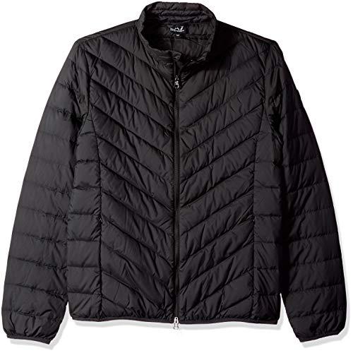 Emporio Armani Herren Train Core Down Light Jacket Shield Daunenmantel, schwarz, X-Large