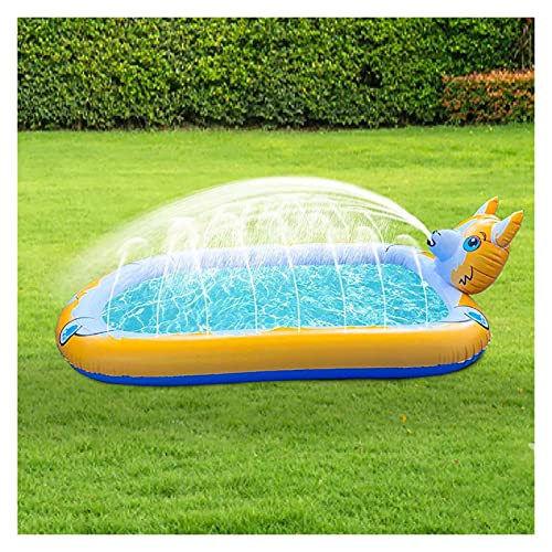 OMYLFQ Paddling-Pool für Hunde Hundepool Große große aufblasbare Schwimmbad Aufblasbare Spielzentrum Paddling Pool Badepool für Kinder, Spielen Badewanne Dichtlich (Color : C)