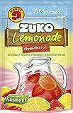 Zuko Strawberry Lemonade Instant Powder Drink   Family Pack   No Sugar Needed   Vitamin C   14.1 Ounce (Pack of 6)