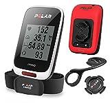 Polar M450 HR Special Edition - Ciclocomputador con GPS, Sensor cardíaco H7 Incluido, Color Rojo