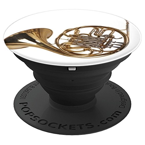 Love French Horn Mellophone Player Gift PopSockets Grip and Stand for Phones and Tablets