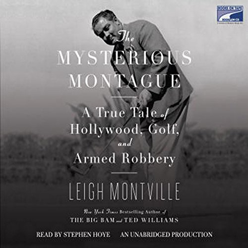 The Mysterious Montague audiobook cover art