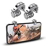 DLseego PUBG Mobile Phone Game Controller Trigger, Mobil Telefonauslöser Shooter Empfindliche Controller Joysticks Feuer Auslösetasten für PUBG/Knives Out/Überlebensregeln, 1 Paar Mobile-Auslöser
