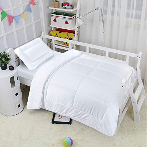 EDS Anti-Allergy Cot Bed Duvet With Pillow,For Baby Cot, 4.5, 7 & 9 Tog with Hollowfibre Filling (9 Tog)
