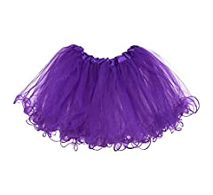 My Lello Little Girls Tutu 3-Layer Ruffle Edge 4 mo - 3T