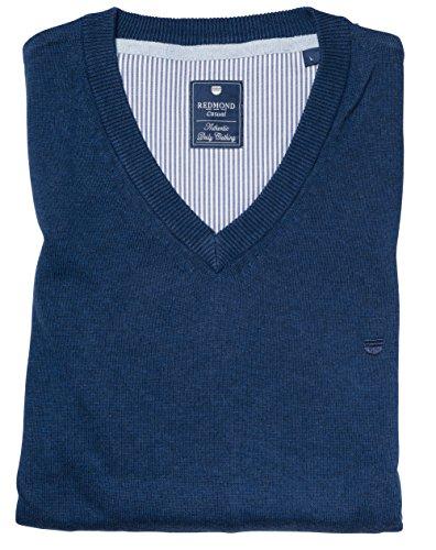 Redmond Pullunder V-Neck blau, Größe: XXL
