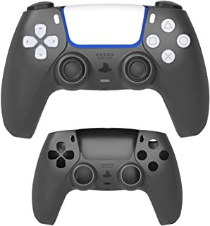 GOTRUTH Replacement Shell for PS5, DIY Replacement Controller Housing Shell Case Set Front and Back Cover for Playstation ...