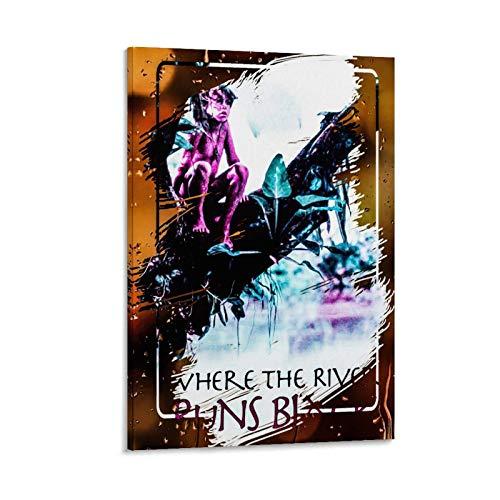 Póster clásico de televisión de Where The River Runs de alta definición, póster de arte en lienzo y arte de pared, 60 x 90 cm