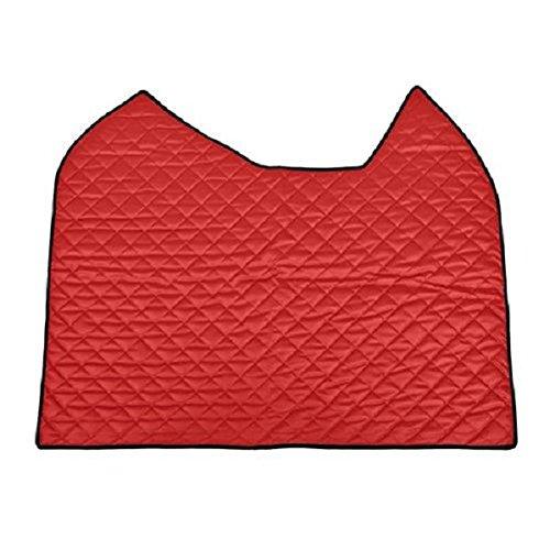 Lampa 96380 tafelkleed van kunstleer, rood