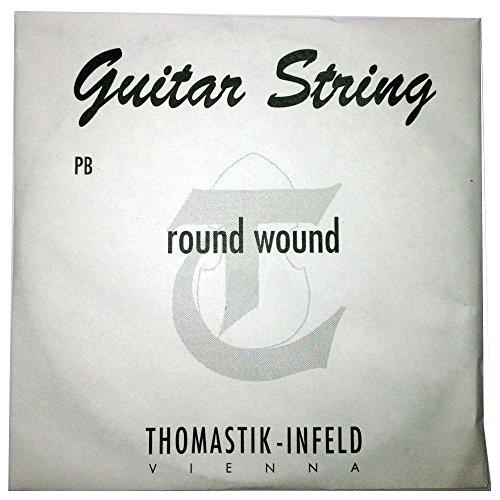 Thomastik-Infeld PB26E-Gitarre Saiten: power-brights Magnecore rund gewickelt–D-Einzelsaite