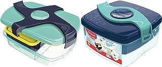 MAPED 870017 PICNIK-Boîte à déjeuner Concept Enfant Large- Bleu Vert & Maped Picnik Origins - Boîte à Déjeuner Repas Enfan...