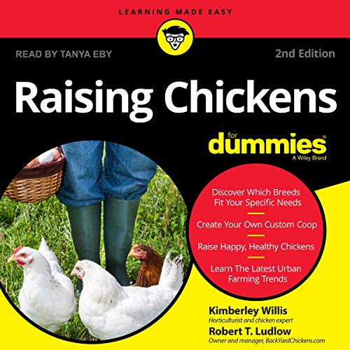 Page de couverture de Raising Chickens for Dummies, 2nd Edition
