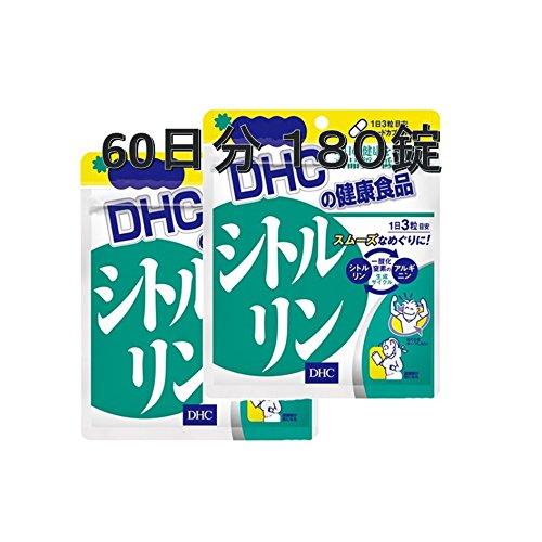 DHC サプリメント シトルリン 60日分 健やかなめぐりをサポート